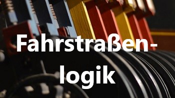 Stellhebel mechanisches Stellwerk, Fahrstraßenlogik, Themen, Bahntechnik, Bahnbetrieb