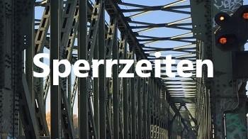 Halt erwarten, Sperrzeiten, Themen, Bahntechnik, Bahnbetrieb