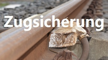 Achszähler an der Schiene, Bahntechnik, Bahnbetrieb